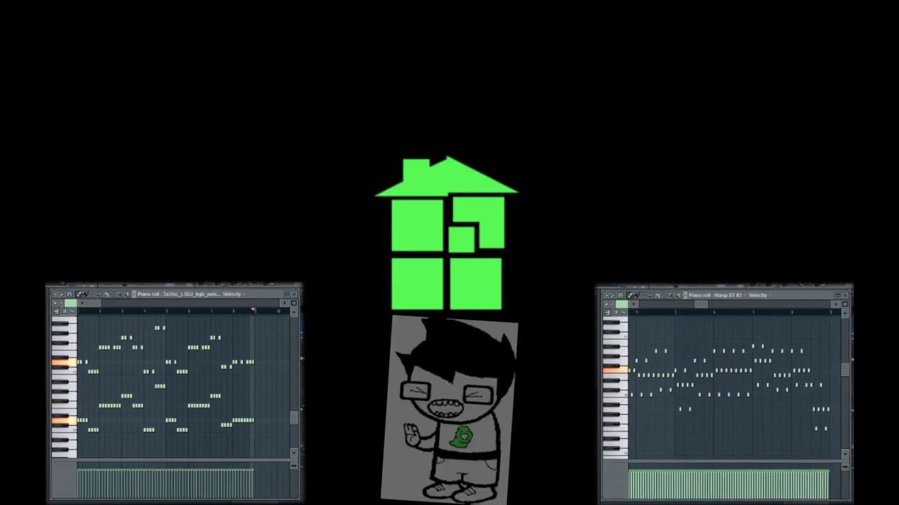 Homestuck Showtime Original Mix In Loop Fl Studio Arrangement