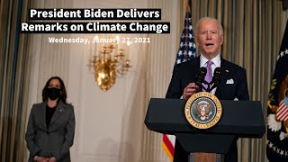 President Biden Delivers Remarks on Climate Change, Signs More Executive Orders | CBN News