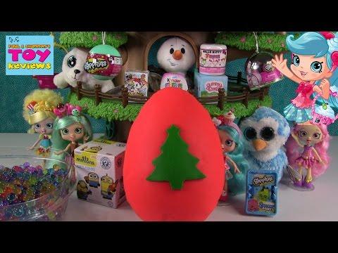 Blind Bag Treehouse #38 | Play-Doh Kinder Surprise Eggs Shopkins Orbeez | PSToyReviews