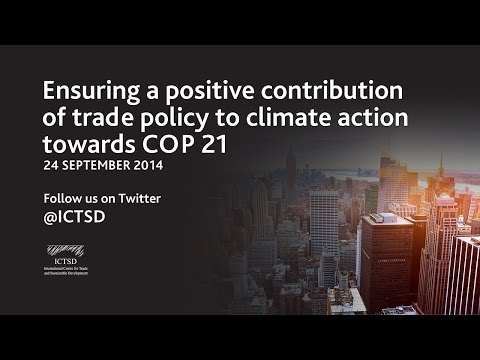 Ensuring a positive contribution of trade policy to climate action towards COP 21