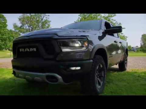 2019 RAM Rebel 3.6–Liter V6 24V VVT eTorque Engine