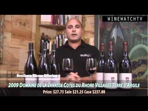 Clos Saint Jean & Domaine De la Janasse Offering