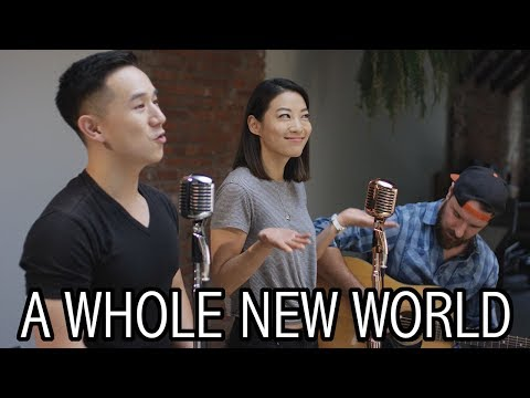 A Whole New World - Aladdin | Jason Chen x Arden Cho