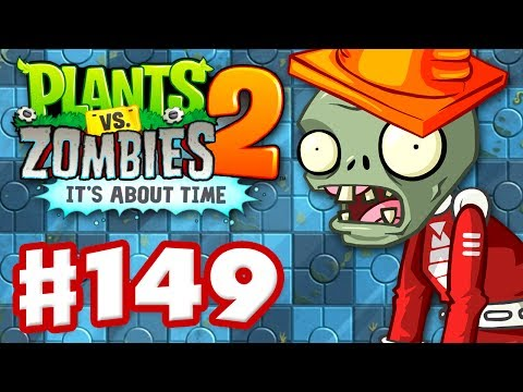 Plants vs. Zombies 2: It's About Time - Gameplay Walkthrough Part 149 - Terror from Tomorrow! (iOS)