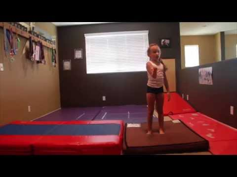 How To Customize A Beginner Gymnastics Home Gym Tumbling