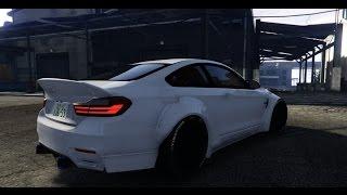 GTA 5 MOD | BMW M4 (Wide Body) - 2016 | PC - 60 FPS