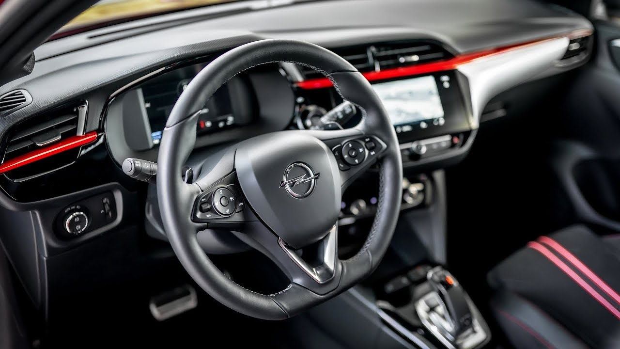 2020 Opel Corsa Interior Youtube