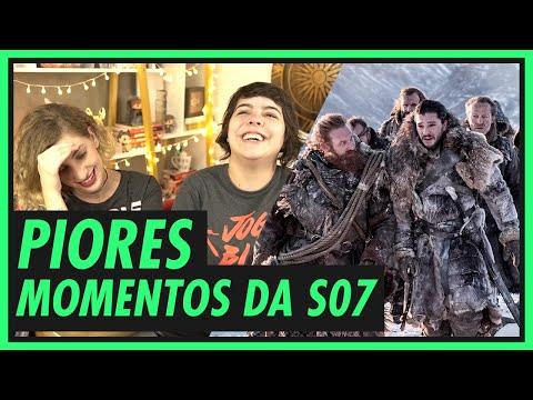PIORES MOMENTOS DA 7ª temporada! GAME OF THRONES