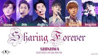 """Shinhwa (신화) - """"Sharing Forever (천일유혼)"""" Lyrics [Color Coded …"""