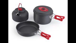 комплект посуды ( чайник, котелок, сковорода )