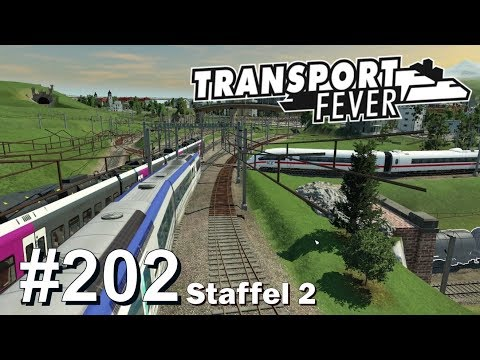 TRANSPORT FEVER S2/#202: ICE auf großer Irrfahrt [Let's Play][Gameplay][German][Deutsch]