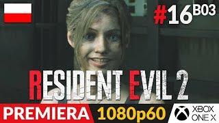 Resident Evil 2 PL - Remake 2019  #16 (#3 Claire B)  Pierwsze mocne zmiany