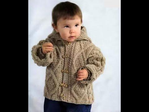 вязаные куртки для детей