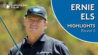 Ernie Els Highlights | Round 3 | 2018 South African Open