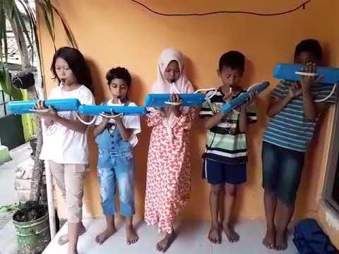 Main Pianika Lagu Gugur Bunga