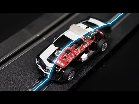 How we over-engineered a Carrera slot car