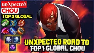 unXpected Road To Top 1 Global Chou [ Top Global Chou ] unXpected - Mobile Legends