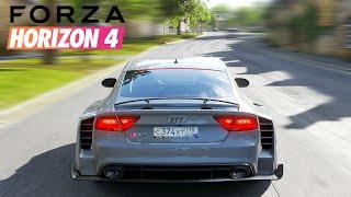 FORZA HORIZON 4 CET ENGIN BOMBARDE SUR AUTOROUTE ! + MEILLEUR BRUIT