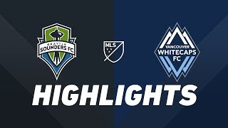 Seattle Sounders FC vs. Vancouver Whitecaps FC | HIGHLIGHTS - June 29, 2019