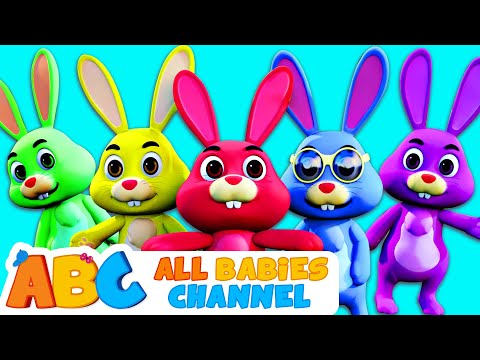 Bunny Family Song | Easter Special | Nursery Rhymes and Kids Songs by All Babies Channel
