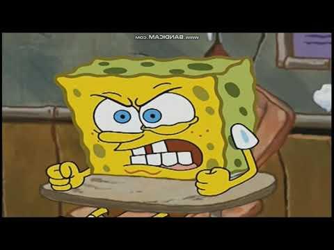 Spongebob beating up D W  Read