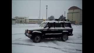 Isuzu trooper bighorn 1991 snow fun