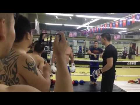 Awaresome Chinese Traditional BaGua Vs. MMA on Stage-5