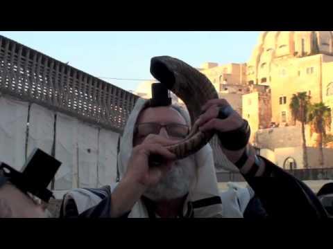 Jerusalem Shofar at Western Wall #3