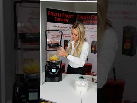 Fresh Fruit Express Preparation Cocktail Blender with sound enclosure English