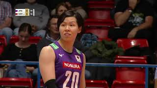 Set 1 Japan vs Germany in HD | Montreux Volley - May 15, 2019