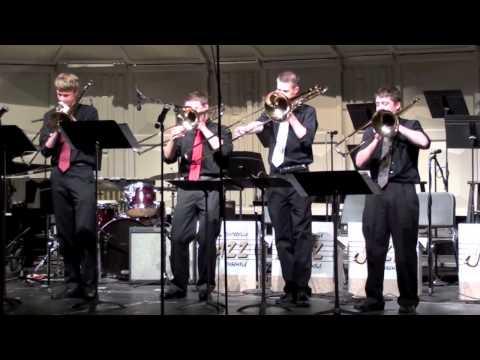 Centerville High School Trombone Quartet - Skippin'