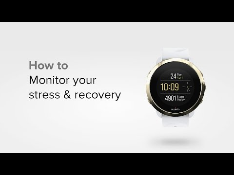 Suunto 3 Fitness - How to monitor your stress and recovery levels