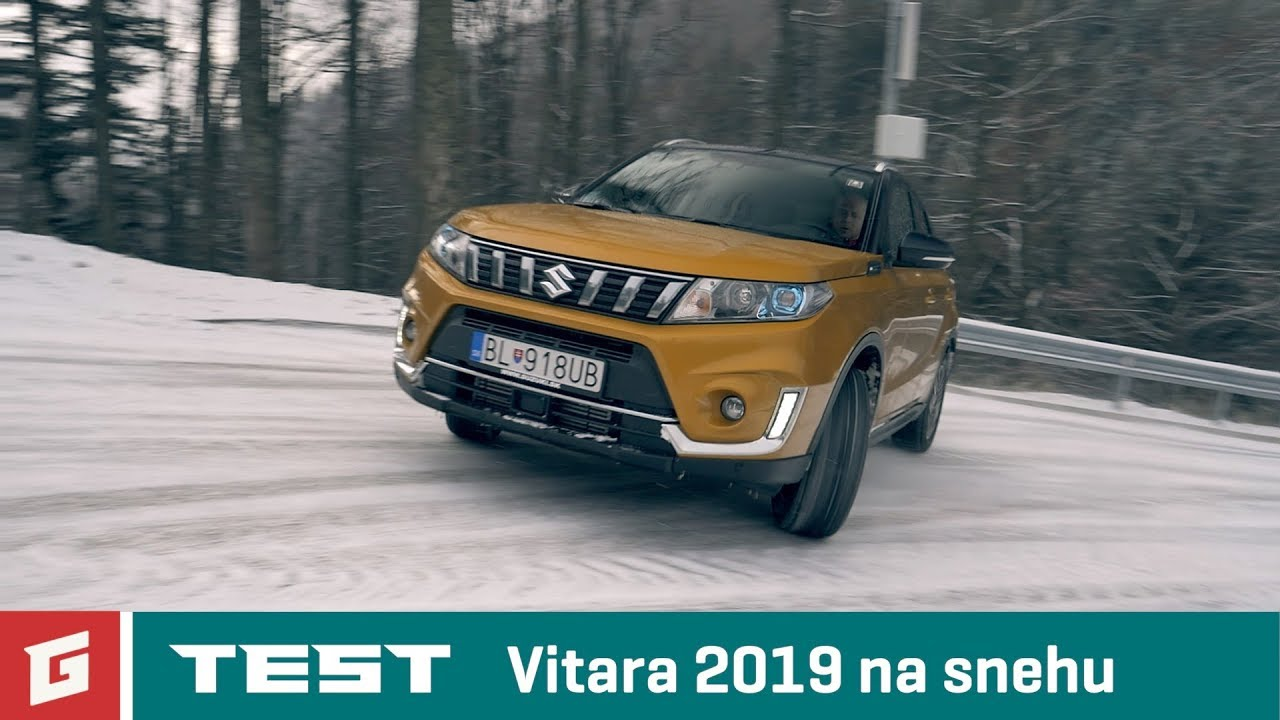 SUZUKI VITARA 1,4 BoosterJet - 4WD 2019 - SUV - TEST - GARAZ.TV