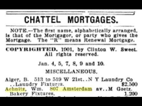 What is a Chattel Mortgage?