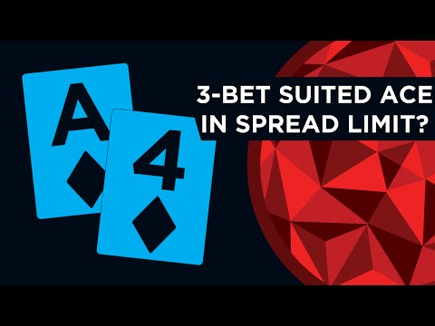 Three Bet A Suited Ace In Spread Limit? | Red Chip Poker