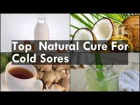 Natural Cure For Cold Sores