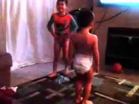 Boy dancing to sexy and i know it