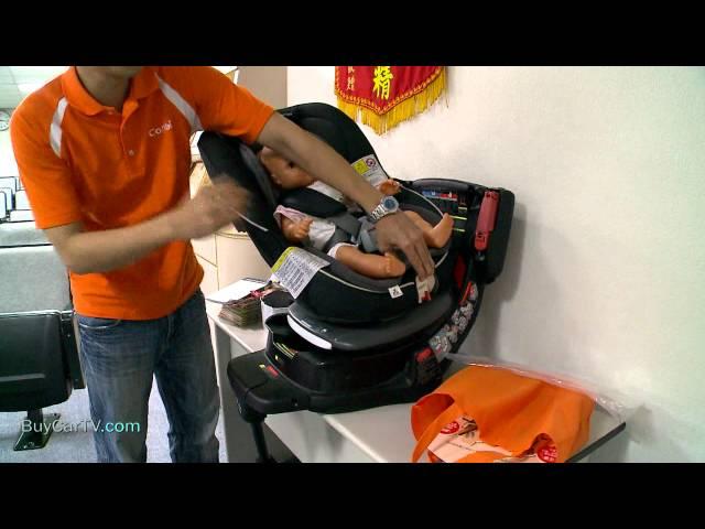 Ford安全節能駕駛體驗營-兒童安全座椅