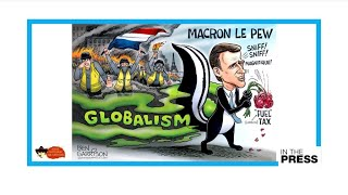 'Macron Le Pew': President's stink of globalism infuriating 'Yellow Vest' movement