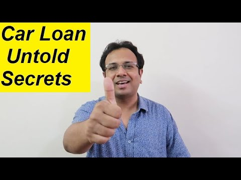 CAR LOAN UNTOLD SECRETS. 5 Golden Rules before taking Car Finance