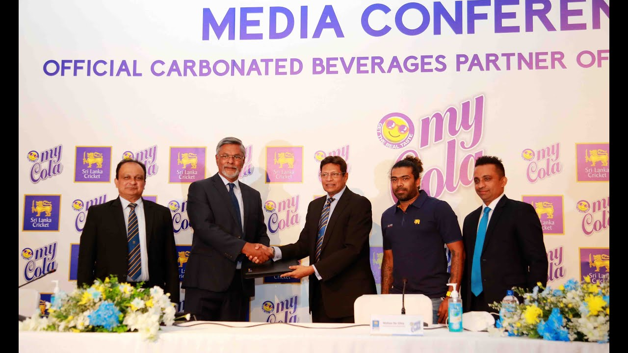 Media Conference : Official Carbonated Beverages Partner of Sri Lanka Cricket