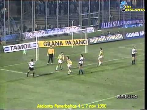 1990-91 Atalanta-Fenerbahce 4-1 7 nov 1990 (Evair, Perrone, Nicolini, Bonacina)