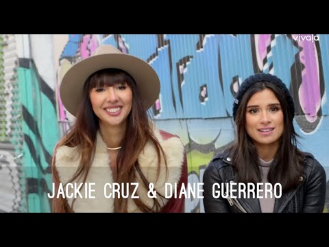 Jackie Cruz and Diane Guerrero Urge Latinos To Register To Vote