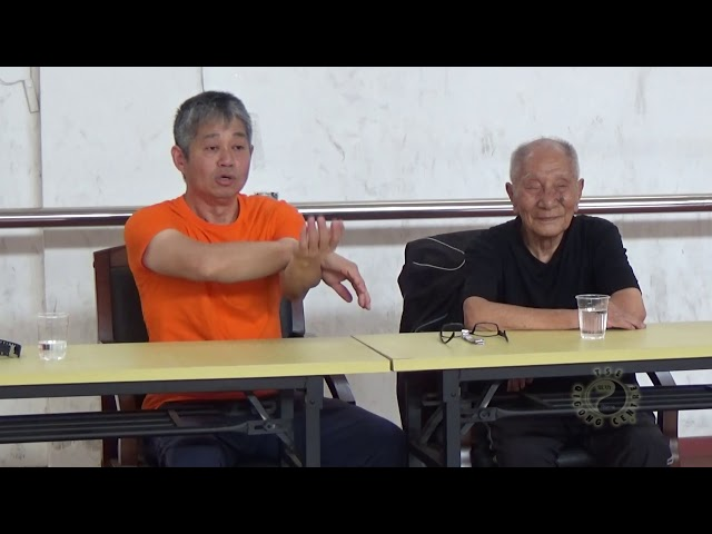 Chi Sau with Grandmaster Ip Chun pt7