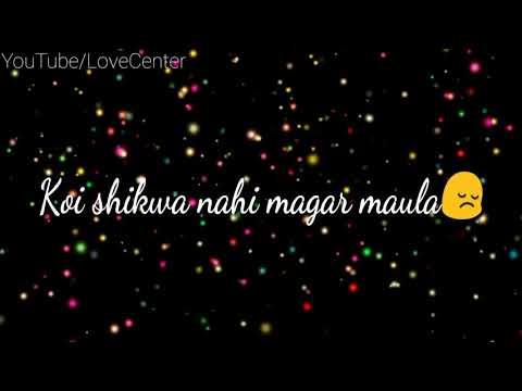 Kya Karu Dard Kam Nahi Hota - Sad  Status Video