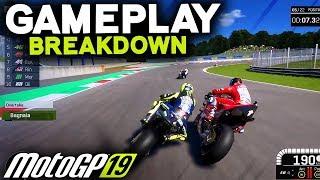 MOTOGP 19 GAMEPLAY - Breaking Down The Details (MotoGP 2019 Game)