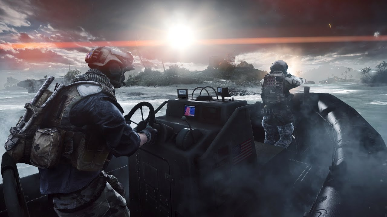 Paracel Storm - Extended Live Gameplay - Greetings from the shores of Paracel, where 64 players are fighting on land, sea, and air in a live gamescom demonstration on an all new #BF4 map.