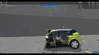 sokudo yoga crash test in roblox Car crushers v.2.9