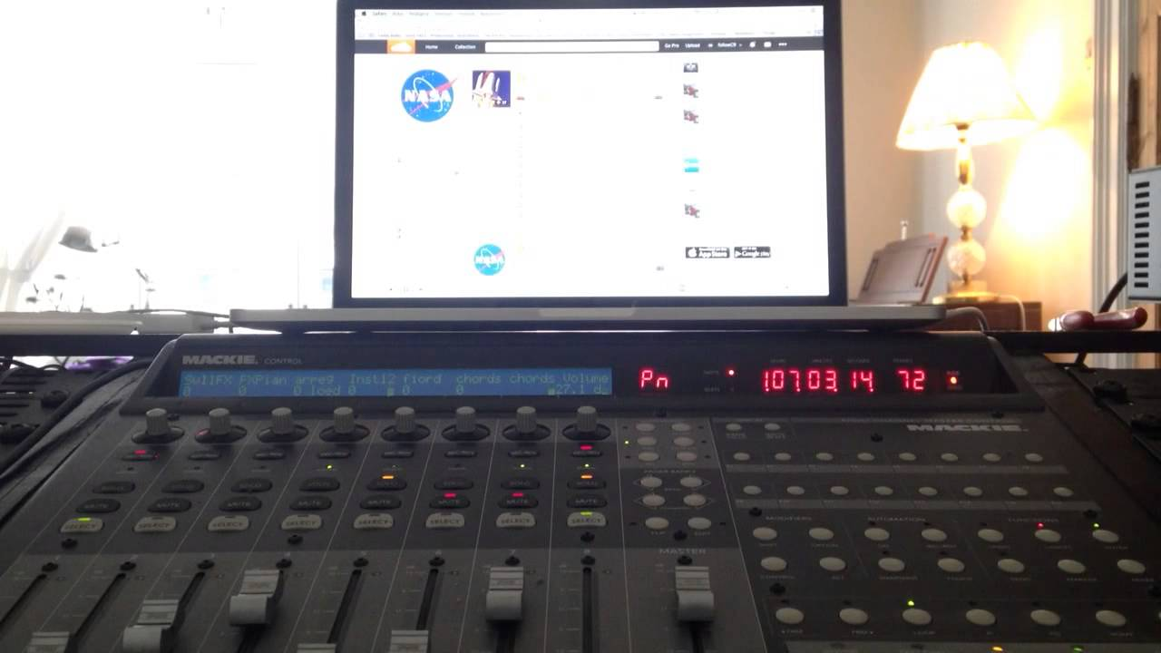 Great fun playing around with NASA's soundcloud!