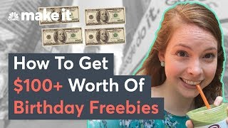 How To Get Over $100 Worth Of Free Stuff On Your Birthday